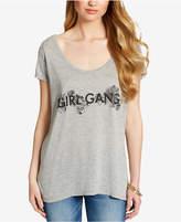 Jessica Simpson Juniors' Printed Twist-Back T-Shirt