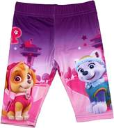 Paw Patrol Girls Graphic Panel Childrens Leggings By BestTrend