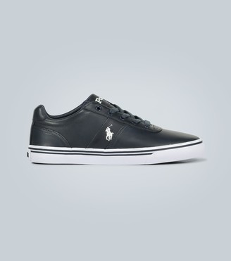 Polo Ralph Lauren Embroidered leather sneakers
