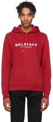 Belstaff Red 1924 Hoodie
