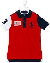 Ralph Lauren colourblock polo shirt - kids - Cotton - 2 yrs