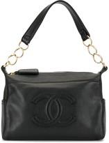 Chanel Pre Owned 2004 CC embossed shoulder bag