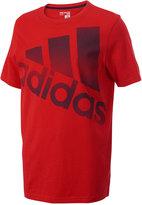 adidas Logo-Print Cotton T-Shirt, Big Boys (8-20)