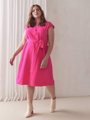 Semi-Fitted Sleeveless Dress - RACHEL Rachel Roy