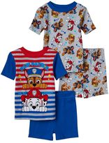 Toddler Boy Paw Patrol Chase and Marshall 4-pc. Pajama Set