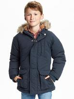Old Navy Faux-Fur-Trim Hooded Parka for Boys