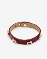 Ted Baker Micro bow leather bracelet