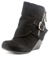Blowfish Bilocate Round Toe Synthetic Ankle Boot.