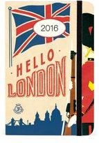 Cavallini & Co. Cavallini AG2016/LON 2016 London Weekly Planner