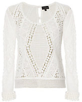 Exclusive for Intermix Collette Crochet Sweater
