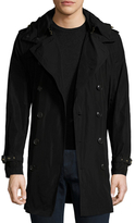 Burberry Delsworth Hooded Trench Coat