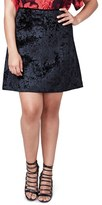 Rachel Roy Plus Size Women's Welt Pocket A-Line Skirt