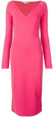 Stella McCartney V-Neck Fitted Dress