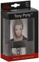 Mia Tony Pony Metal Ponytailer in Silver