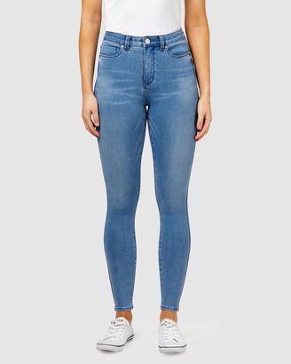 Jeanswest Freeform 360 Contour Skinny 7/8 Jeans