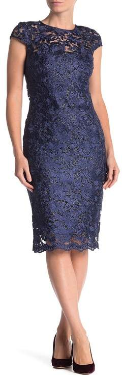 9cedffd428 Scalloped Hem Lace Dress
