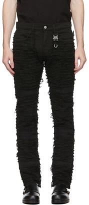 Alyx Black Blackmeans Edition Six-Pocket Jeans