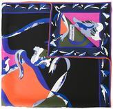 Emilio Pucci ribbon print scarf