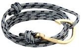 Miansai Gold Hook Rope Bracelet
