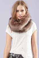 Forever 21 FOREVER 21+ Faux Fur Snood