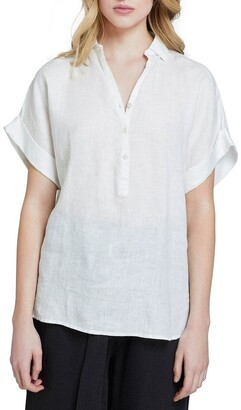 Oxford Cara Linen Shirt