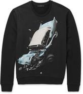 Christopher Kane - Printed Loopback Cotton-jersey Sweatshirt