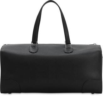 MONCLER GENIUS Moncler X Valextra Leather Tote Bag