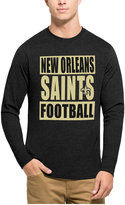 '47 Men's New Orleans Saints Compton Club Long-Sleeve T-Shirt