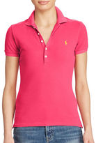 Polo Ralph Lauren Skinny Stretch Mesh Polo Shirt