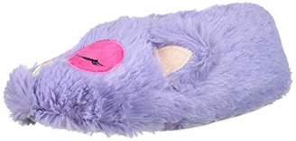Muk Luks Girls Owl Slippers