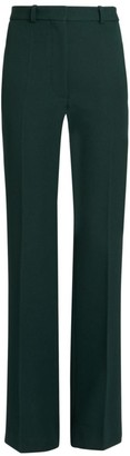 Victoria Beckham High-Waisted Flare Wool Trousers