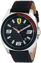 Ferrari Men's 0830163 Aero Evo Analog Display Quartz Black Watch