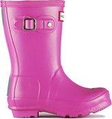 Hunter Kids Wellingtons Fuchsia 2