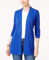 Karen Scott Open-Front Cardigan, Created for Macy's