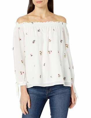 Max Studio Women's Ditsy Floral Blouse