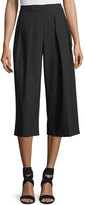 Vince Camuto Pleated Wide-Leg Crop Pants