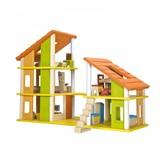 Plan Toys Furnished chalet dollshouse