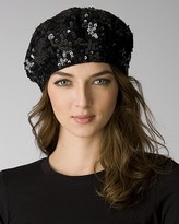 Women's Sequined Knit Beret: Exclusively at Bloomingdale's