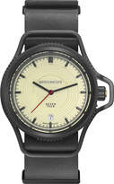 Givenchy GY100181s14 Seventeen coated stainless steel and leather watch