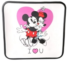 Disney Mickey & Minnie White Square Trinket Dish