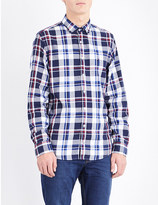 Tommy Hilfiger Charly New York-fit check-print cotton shirt