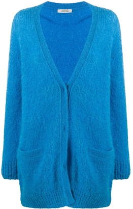 Dorothee Schumacher Rich Volumes mid-length cardigan