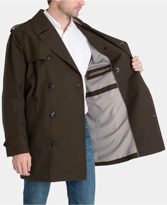 London Fog Men Modern-Fit Fraser Double Breasted All Weather Coat