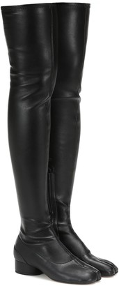 Maison Margiela Tabi over-the-knee boots