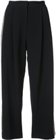ADAM by Adam Lippes Side Stripe Cropped Trousers