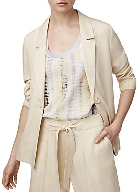 b new york Asymmetric Split-Back Blazer