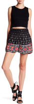 Angie Smock Waist Printed Short