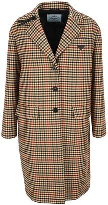 Prada Single-Breasted Overcoat
