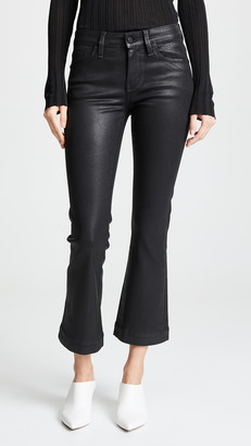 Habitual Kaira Ankle Semi Flare Coated Jeans