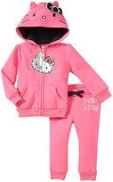 Hello Kitty 3D Fleece Active Wear Set (Baby) - Passion Fruit-18-24M